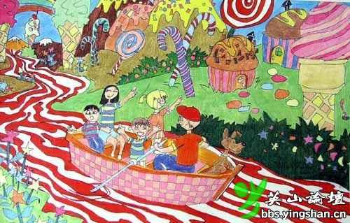 国际儿童画获奖作品欣赏图片