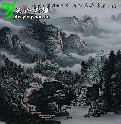 69 兴趣圈圈 69 书画艺术 69 宋玉鑫 山水画欣赏  x  今年初春