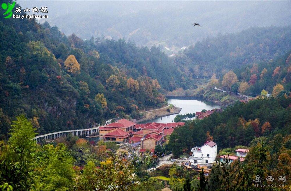 安徽岳西天峡风景区