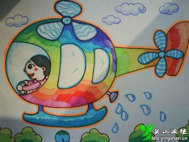 怎样指导儿童画画